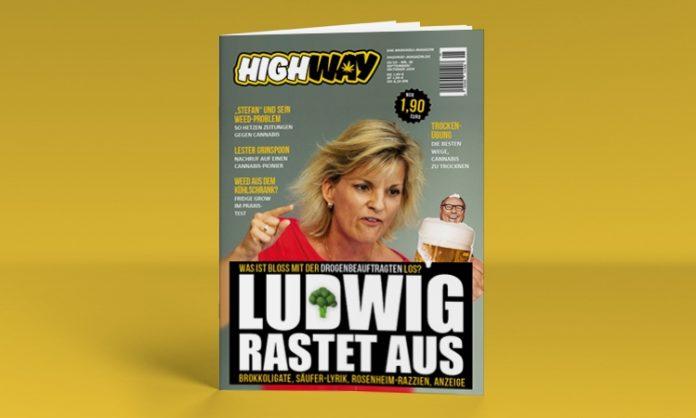 Das Cover von Highway-Ausgabe 05/2020 mit Daniela Ludwig vorne drauf