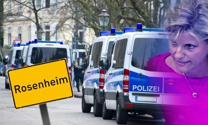 Daniela Ludwig guckt irre, Polizeiwagen