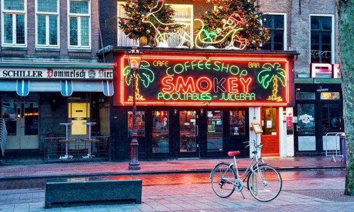 Coffeeshop Smokey in Amsterdam