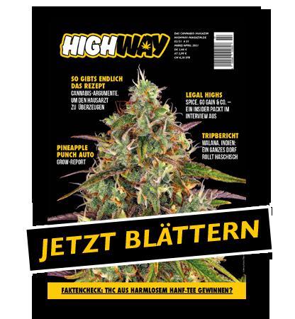 Highway - Das Cannabismagazin Ausgabe 02/2021