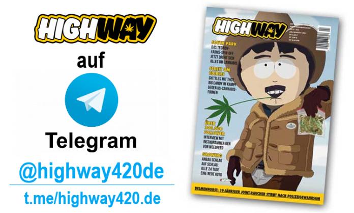 Highway - jetzt auf Telegram